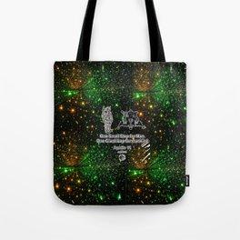 Space man  and Moonwalk 2 Tote Bag