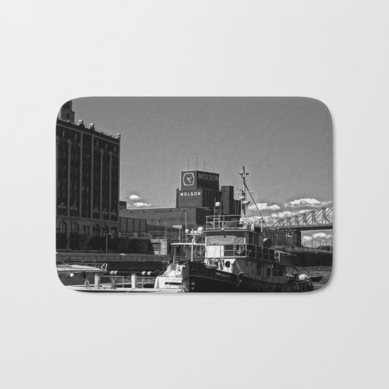Old Port Montreal Bath Mat