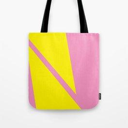 Pink Angles Tote Bag