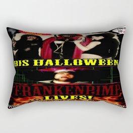 Frankenpimp (2009 )  - 'Original Theatrical Lobby Poster'   Rectangular Pillow