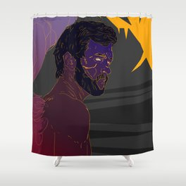 Belepheron Shower Curtain