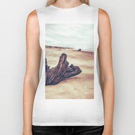Ocean Driftwood Biker Tank