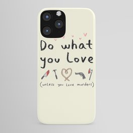 Motivational Poster iPhone Case