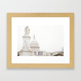 Capitol Building Framed Art Print