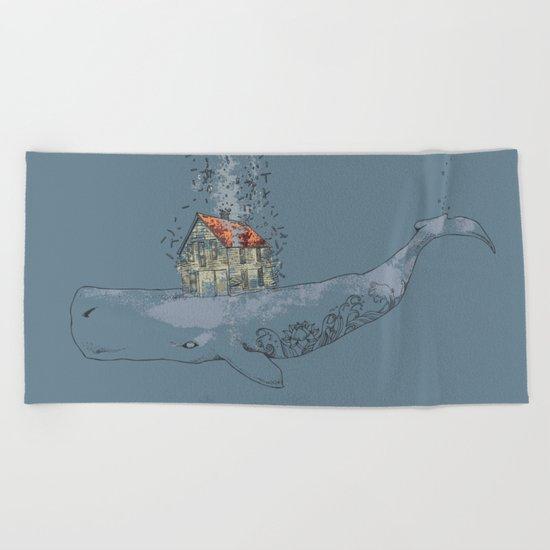 Ocean Home Beach Towel