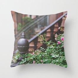 West Village Summer Nights Throw Pillow