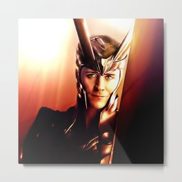 Loki - I Never Wanted The Throne VIII Metal Print