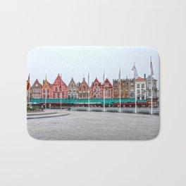 Brugge In Colour Bath Mat