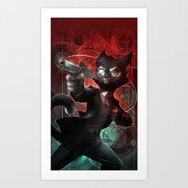 Lackadaisy Skirmish Art Print