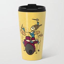 Crazy drummer Travel Mug