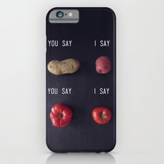 Let's Call the Whole Thing Off iPhone 6 Slim Case