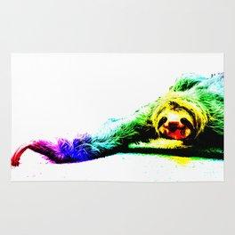 A Smiling Sloth II Rug