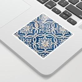 Vintage portuguese azulejo Sticker