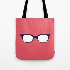 Sun Glasses on Red Tote Bag