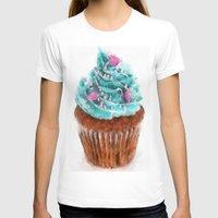 cupcake T-shirts featuring Cupcake by Manuela Mishkova