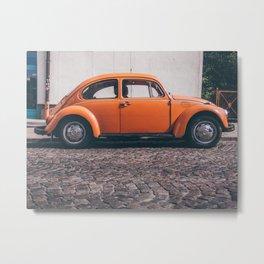 the orange one Metal Print