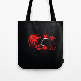 THE EXHIBIT CHAPTER ONE: COCO AGAPE LOVE WARRIOR Tote Bag