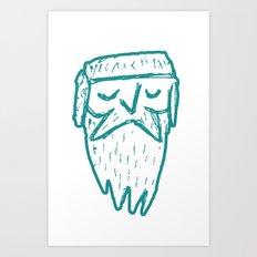 Frostbeard Logo Art Print