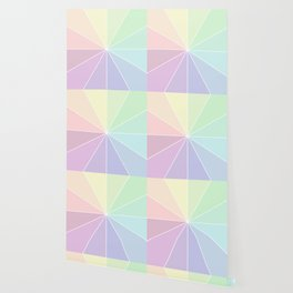 Pastels Summer Rainbow Wallpaper