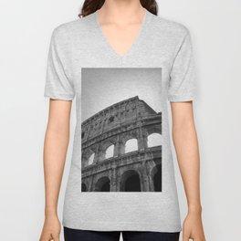 Coliseum Roma. Italy 72 Unisex V-Neck