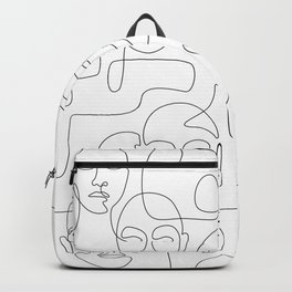 Figured Faces Backpack