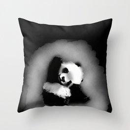 Coucou bébé - Panda Throw Pillow