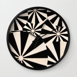 Crowded Beach Wall Clock