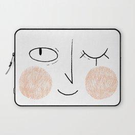 Winky Face Laptop Sleeve