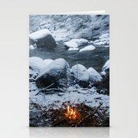 vermont Stationery Cards featuring Vermont Winter by Hudson Gardner