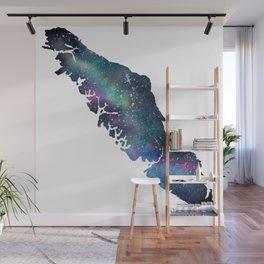 Vancouver Island - Watercolor Galaxy Wall Mural