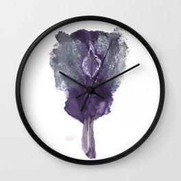 Verronica's Vulva Print. No.1 Wall Clock