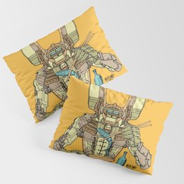 Sushi Droid Ver. 2 Pillow Sham