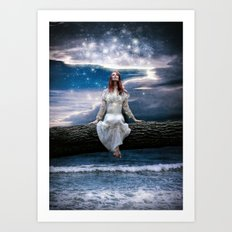 Wishing for Neverland Art Print