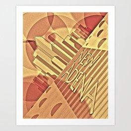New Adena Art Print