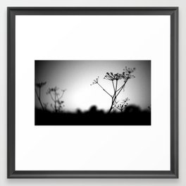 Winter Can Be Cruel, But Never Ugly Framed Art Print