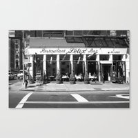 broadway Canvas Prints featuring Broadway by Jon Cain