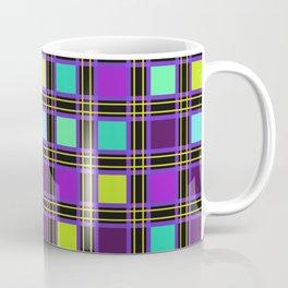 Plaid multi colored 1 Coffee Mug