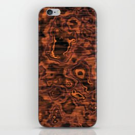 Knotted Wood iPhone Skin