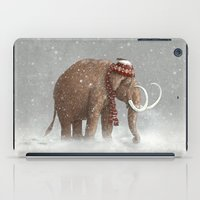 grey iPad Cases featuring The Ice Age Sucked by Terry Fan