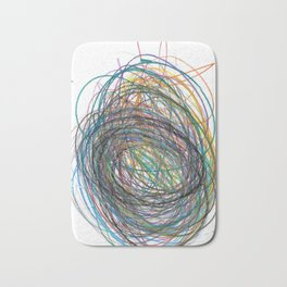 Whirlwind Colored Pencils Bath Mat
