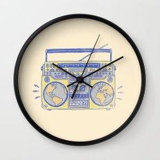 Make The World Dance Wall Clock