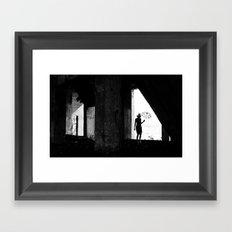 In Black Framed Art Print