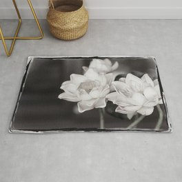 Lovely Water Lily Rug