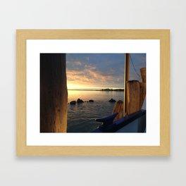 South Ferry Sunset I Framed Art Print