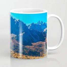 Autumn trekking in the alpine Pusteria valley Coffee Mug