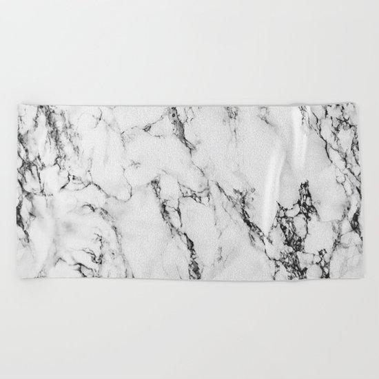 Marble #texture Beach Towel