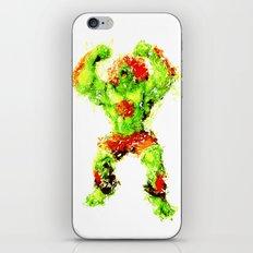 Street Fighter II - Blanka iPhone & iPod Skin