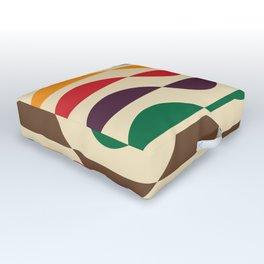 Summer waves Outdoor Floor Cushion