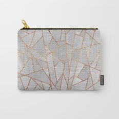 Shattered Concrete Carry-All Pouch