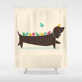 Bird Dog Shower Curtain